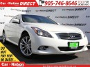 Used 2012 Infiniti G37 X Premium| AWD| LEATHER| SUNROOF| BACK UP CAMERA| for sale in Burlington, ON