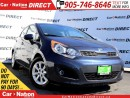 Used 2013 Kia Rio LX+| ONLY 36, 264 KM'S| HEATED SEATS| for sale in Burlington, ON