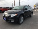 Used 2010 Ford Edge LIMITED AWD V-6 LEATHER/PANO ROOF CALL NAPANEE for sale in Picton, ON
