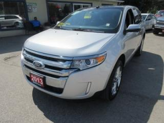 Used 2013 Ford Edge LOADED SEL MODEL 5 PASSENGER AWD.. 3.5L - V6.. LEATHER.. SONY AUDIO.. NAVIGATION.. DUAL SUNROOF.. BACK-UP CAMERA.. for sale in Bradford, ON