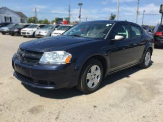 Used 2008 Dodge AVENGER SE * LOW KM * EXTRA CLEAN * SATELLITE RADIO SYSTEM for sale in London, ON