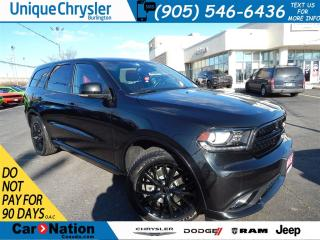 Used 2015 Dodge Durango R/T|RED LEATHER|SUNROOF|NAV AND MORE!!! for sale in Burlington, ON