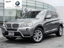Used 2013 BMW X3 xDrive28i AWD, Sunroof, Park Distance Control, Cruise Control, Heated Seats for sale in Oakville, ON