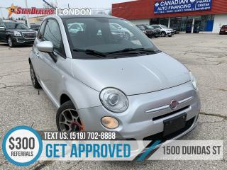 Used 2012 Fiat 500 Sport | LEATHER | ROOF for sale in London, ON