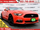Used 2016 Ford Mustang EcoBoost Premium| LEATHER| REAR CAM| POWER SEATS| for sale in Burlington, ON