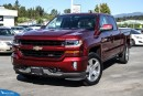 New 2017 Chevrolet Silverado 1500 2LT Navigation, Dual Zone Climate Control, and Heated Seats for sale in Port Coquitlam, BC