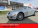 Used 2005 MERCEDES BENZ SLK-Class SLK350   POWER HARDTOP, HEATED LEATHER, SIX-SPEED MANUAL! for sale in St Catharines, ON