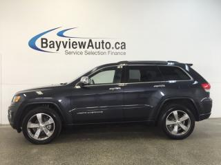 Used 2015 Jeep Grand Cherokee LTD- 4x4! ROOF! LEATHER! NAV! REV CAM! PWR TRUNK! for sale in Belleville, ON