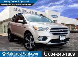 New 2017 Ford Escape SE FRONT WHEEL DRIVE, MYKEY, SYNC for sale in Surrey, BC
