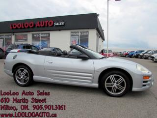 Used 2003 Mitsubishi Eclipse Spyder GT Premium Leather for sale in Milton, ON