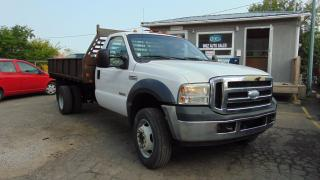 Used 2007 Ford F-550 XLT for sale in Brampton, ON