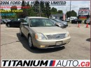 Used 2006 Ford Five Hundred Limited+Heated Leather Memory Seats+Back Up Sensor for sale in London, ON