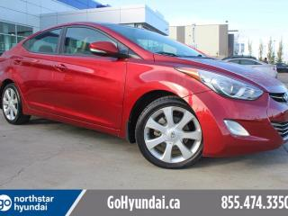 Used 2012 Hyundai Elantra Limited NAVIGATION/SUNROOF/LEATHER for sale in Edmonton, AB