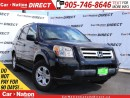 Used 2008 Honda Pilot LX| WE WANT YOUR TRADE| OPEN SUNDAY'S| for sale in Burlington, ON