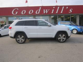 Used 2015 Jeep Grand Cherokee Limited for sale in Aylmer, ON