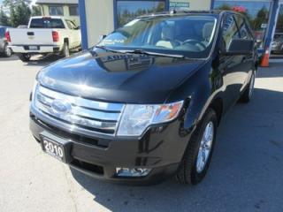 Used 2010 Ford Edge LOADED SEL MODEL 5 PASSENGER AWD.. 3.5L - V6 ENGINE.. LEATHER.. HEATED SEATS.. DUAL SUNROOF.. BLUETOOTH.. for sale in Bradford, ON
