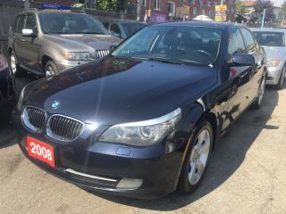 Used 2008 BMW 5 Series 528xi AWD Navi Leather Sunroof Alloys SUPER CLEAN for sale in Scarborough, ON