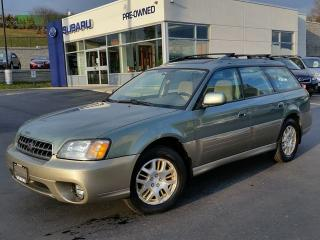 Used 2004 Subaru Outback LIMITED for sale in Kitchener, ON