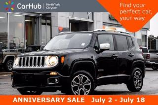 New 2016 Jeep Renegade Limited 4X4 Nav Bluetooth Backup Camera DualClimate Remote Start SiriusXM for sale in Thornhill, ON