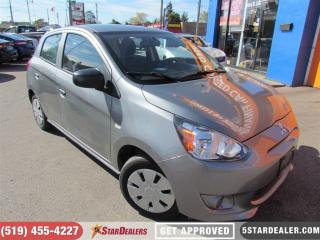 Used 2015 Mitsubishi Mirage ES | ONE OWNER | AS GOOD AS NEW for sale in London, ON