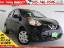 Used 2015 Nissan Micra SV| WE WANT YOUR TRADE| OPEN SUNDAYS| for sale in Burlington, ON