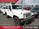 New 2016 Jeep Wrangler Sahara for sale in Surrey, BC