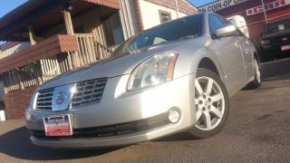 Used 2006 Nissan Maxima 3.5SL  / AUTO / LEATHER / S-ROOF / 176k for sale in North York, ON
