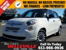 Used 2014 Fiat 500 L Pop-Manual Transmission $96 bi-Weekly! for sale in Belleville, ON