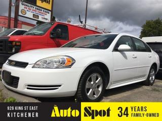 Used 2010 Chevrolet Impala LT/ PRICED FOR A QUICK SALE for sale in Kitchener, ON