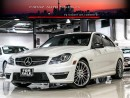 Used 2013 Mercedes-Benz C63 AMG PERFORMANCE PKG|BLINDSPOT|NAVI|REAR CAMERA|LOADED for sale in North York, ON
