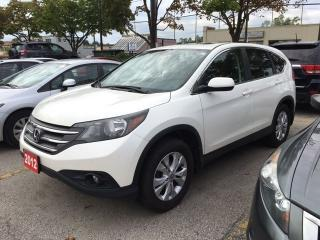 Used 2012 Honda CR-V EX-L for sale in North York, ON