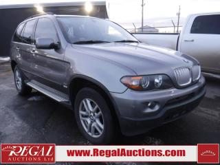 Used 2005 BMW X5 4.4 I 4D Utility AWD for sale in Calgary, AB