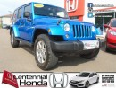 Used 2014 Jeep Wrangler Unlimited Sahara for sale in Summerside, PE