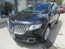 Used 2013 Lincoln MKX LOADED AWD EDITION 5 PASSENGER 3.7L - V6.. LEATHER.. HEATED/AC SEATS.. DUAL SUNROOF.. NAVIGATION.. THX AUDIO.. BACK-UP CAMERA.. for sale in Bradford, ON