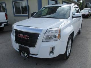 Used 2011 GMC Terrain LOADED SLT-1 MODEL 5 PASSENGER 3.0L - V6.. LEATHER.. HEATED SEATS.. SUNROOF.. BACK-UP CAMERA.. DUAL DVD PLAYER.. PIONEER AUDIO.. for sale in Bradford, ON