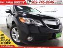 Used 2015 Acura RDX w/Tech Package| LEATHER| NAVI| SUNROOF| AWD| for sale in Burlington, ON