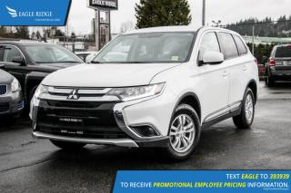 Used 2016 Mitsubishi Outlander ES Heated Seats and Air Conditioning for sale in Port Coquitlam, BC