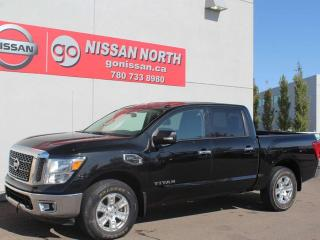 Used 2017 Nissan Titan SV/CREW CAB/4X4/BACKUP CAM for sale in Edmonton, AB