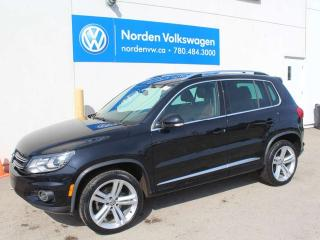 Used 2017 Volkswagen Tiguan HIGHLINE R-LINE 4MOTION AWD - LEATHER / 19