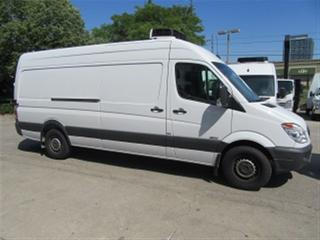 Used 2013 Mercedes-Benz Sprinter 2500 Extended raised roof diesel refridgerated van for sale in Richmond Hill, ON