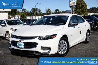 New 2017 Chevrolet Malibu L Push Button Start and Air Conditioning for sale in Port Coquitlam, BC