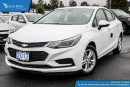 New 2017 Chevrolet Cruze LT Auto Sunroof and Heated Seats for sale in Port Coquitlam, BC