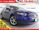Used 2014 Ford Taurus SEL| HEATED SEATS| DUAL CLIMATE CONTROL| for sale in Burlington, ON