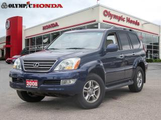 Used 2008 Lexus GX 470 GX 470   V8   Premium Leather Upholstery for sale in Guelph, ON