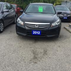 Used 2012 Honda Accord FULLY CERTIFIED-SPECIAL EDITION 2.4L i-Vtec for sale in Scarborough, ON