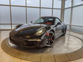 Used 2014 Porsche 911 Carrera 4S Cabriolet | CPO | Ext. Warranty | Sport Exhaust | Chrono | Premium PKG for sale in Edmonton, AB