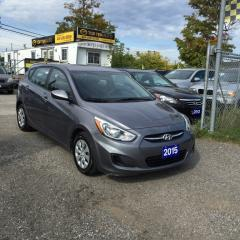 Used 2015 Hyundai Accent FULLY CERTIFIED- ONLY $11995 +HST for sale in Scarborough, ON