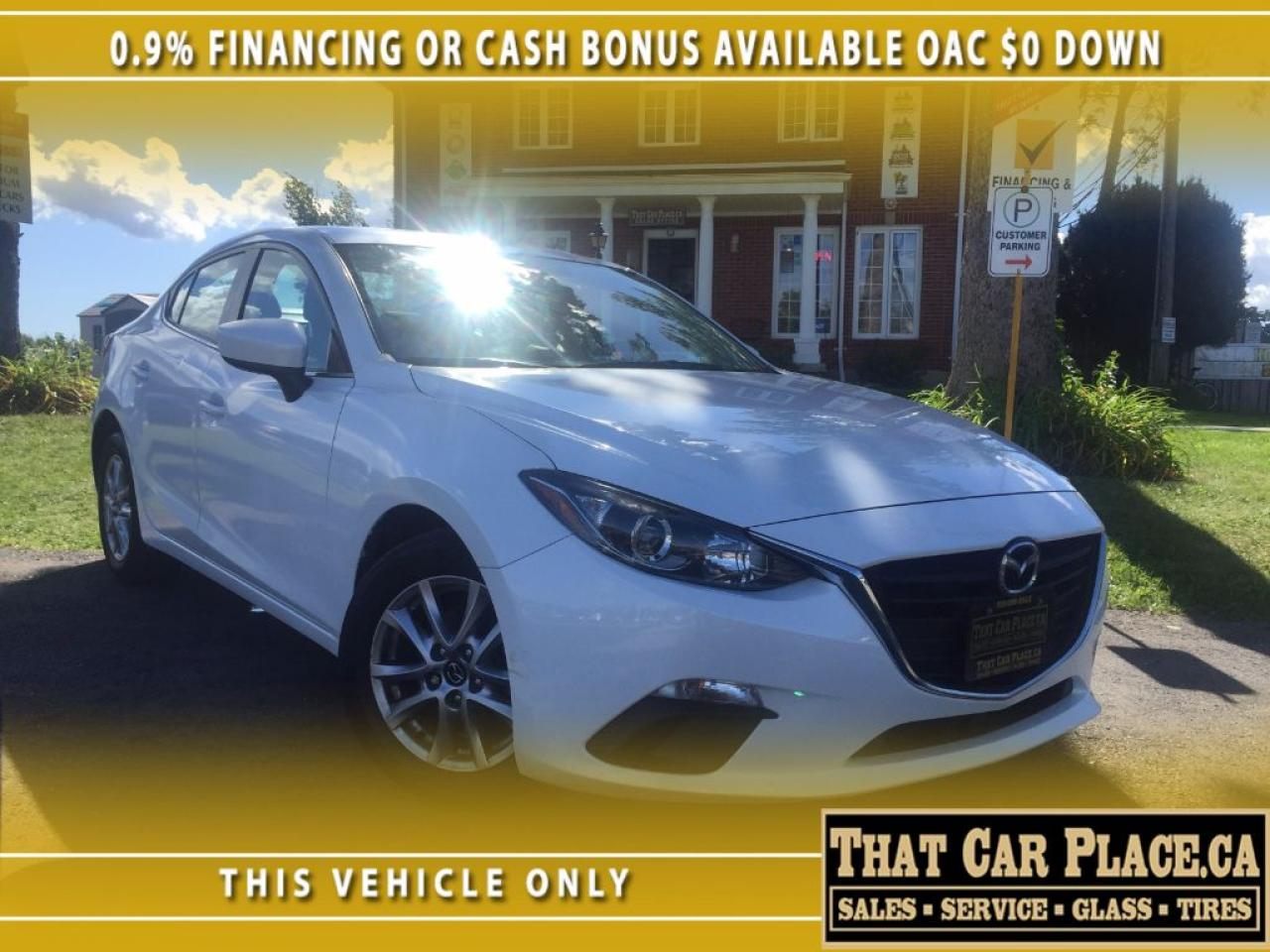 2014 Mazda MAZDA3 GS-0.9%Financing or $1300 CASHBACK-$0DOWN-Loaded