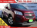 Used 2015 Chevrolet Trax LT 2LT| LEATHER-TRIMMED SEATS| BACK UP CAMERA| for sale in Burlington, ON