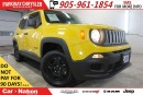 Used 2015 Jeep Renegade SPORT| 4X4| MY SKY| BLUETOOTH| REAR CAMERA| for sale in Mississauga, ON